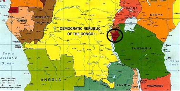 Burundi-Map