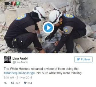 white-helmets-tweet-manniquin-challenge