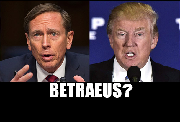 Globalization's Inside Man: The Problem with David Petraeus in Trump's Cabinet