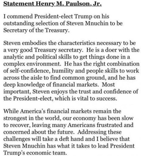 hank-paulson-on-mnuchin-selection
