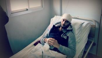 シリア:ダマスカスのティシュリーン軍病院訪問