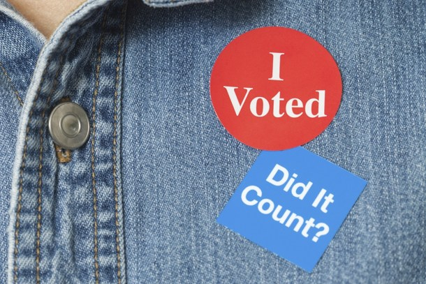 BLOG I voted did it count