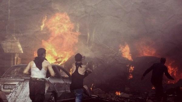 car bomb homs