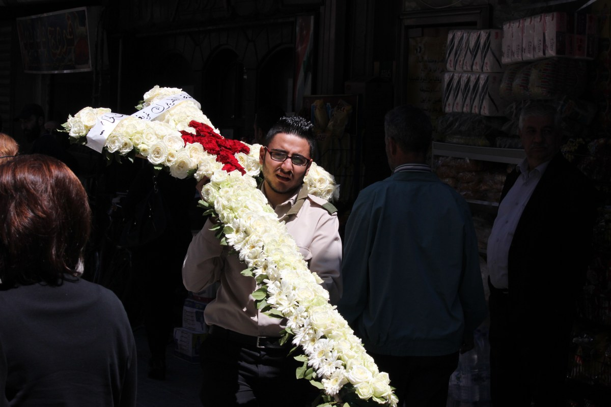DAMASCUS: Honouring Maloula's Martyrs - The Long Road Home