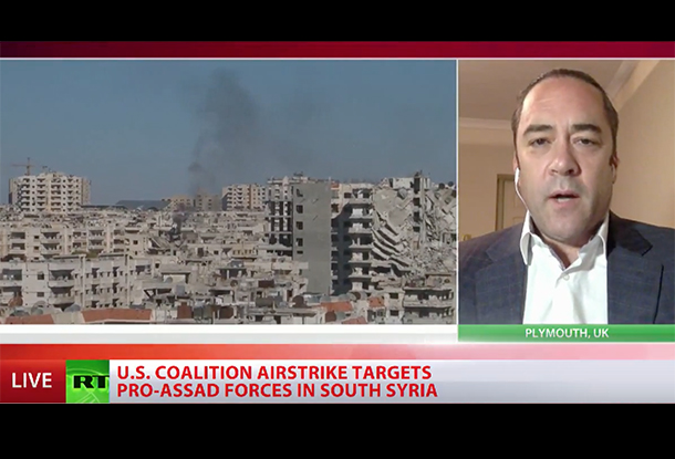 US Coalition Attacks Syrian Forces - Helping ISIS in the Process