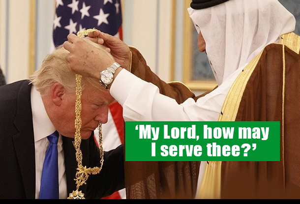 1 Donald Trump Saudi-King