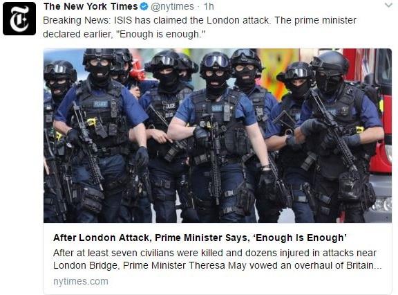London Bridge story