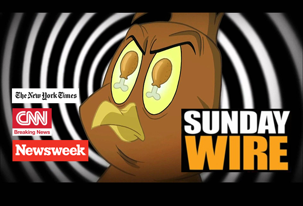 Episode #195 - SUNDAY WIRE: 'Chickenhawk Nation' with Patrick Henningsen, Mike Robinson