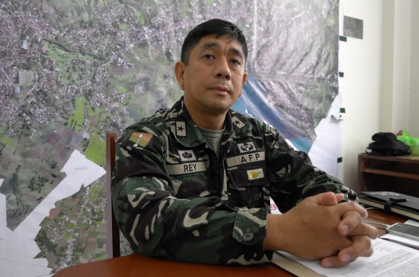 General Rey Head of Joint Task Force Group Ranao