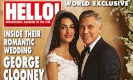 Foto e parë nga dasma Clooney-Alamuddin