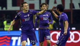 Fiorentina nxjerr pikë në Milano
