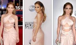 Jennifer Lopez tërheq vëmendjen në AMA