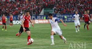 Moment nga ndeshja Shqiperi - Armeni