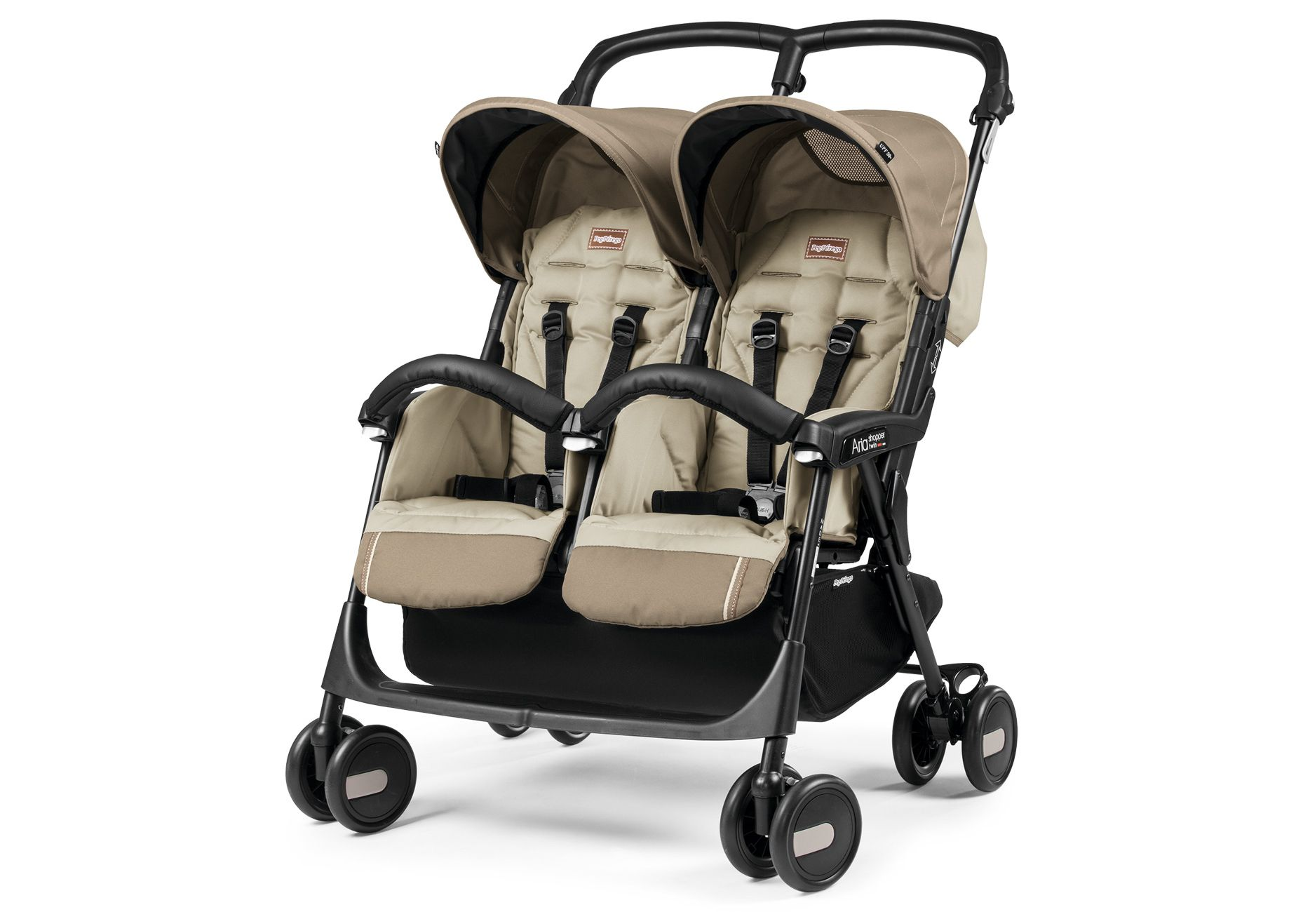 Peg Perego Stroller For Twins Peg Perego Aria Twin Pram