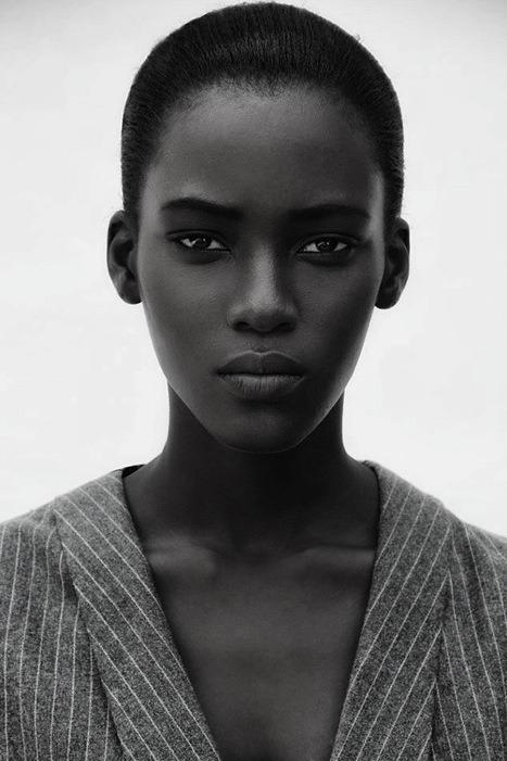 Beautiful black woman Faces in Cultural Techni Color Pinterest - küchen u form