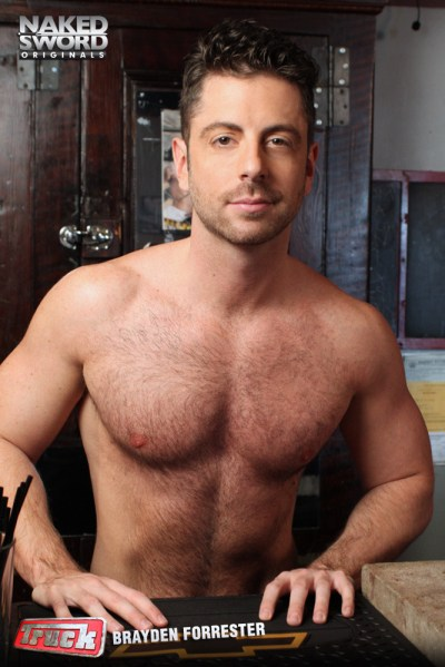 Gay porn star and escort Brayden Forrester