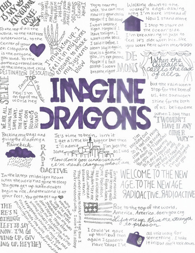 Believer u2013 Imagine Dragons Imagine dragons, Dragons and Audio - concert program