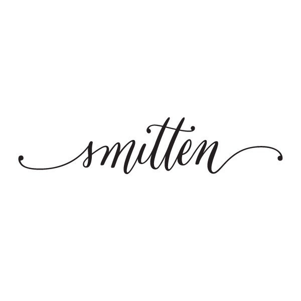 Smitten Fonts, Typography and Calligraphy - resume letters