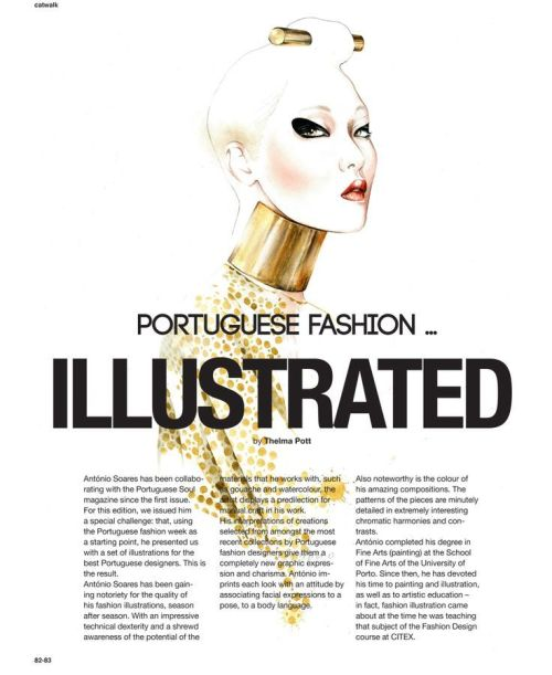 The Art of Magazine Design - MagSpreads Michael Schepis - fashion poster design