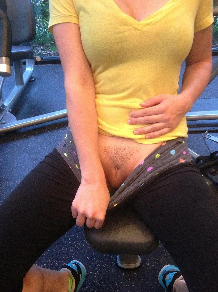 nude gym shots girl