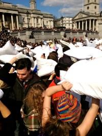 Mehek: National Pillow Fight Day | Global Crossroads