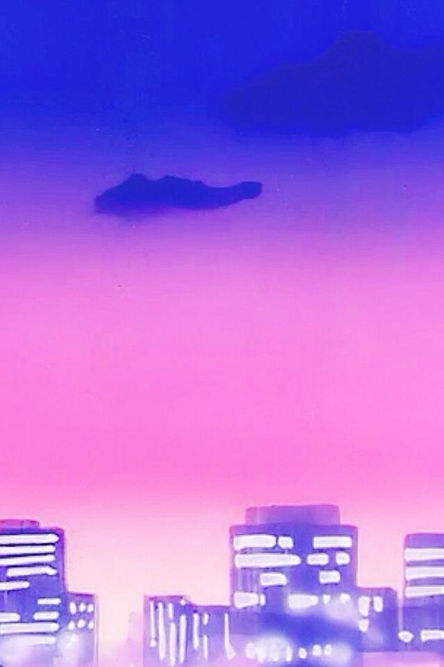 Wallpaper Iphone Purple Sailor Moon Klefable