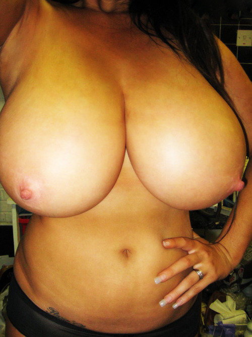 beautiful tanned breasts