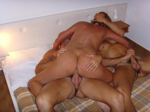mfm threesome foreplay gif