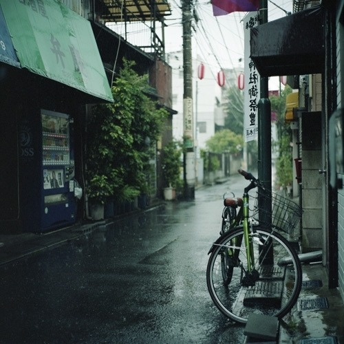 Tokyo Geisha Girl Wallpaper Background Thrilling Experience In An Evening With Thunderstorm And