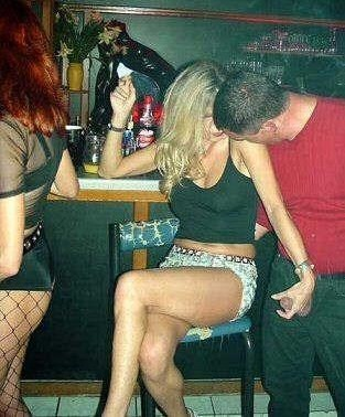 wife exposed in public