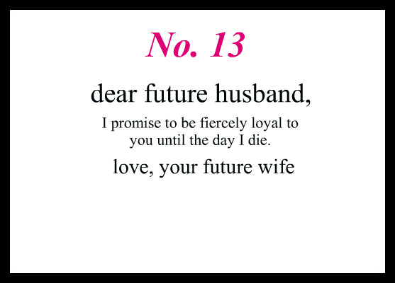 i promise Words to Live By Pinterest Future husband, Future - credit note letter