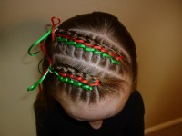Cute Yet Crazy Christmas Tree & Party Hairstyles & Ideas ...