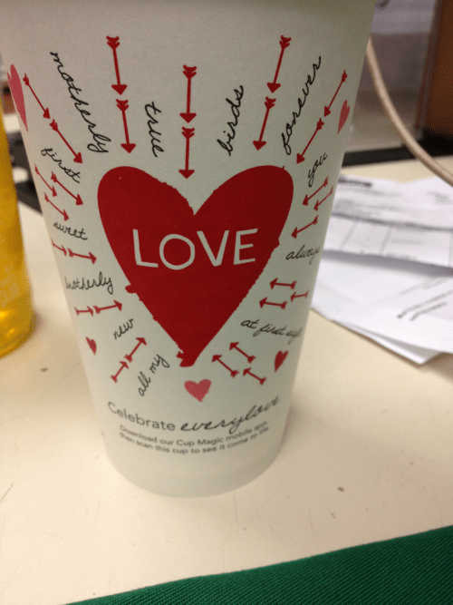 Starbucks talks about loving people, what about God though?