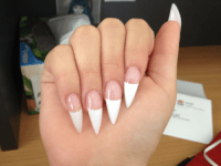 french tip on Tumblr