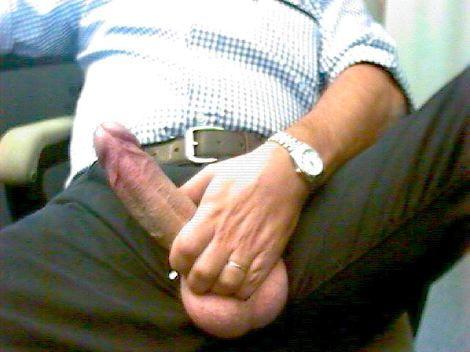 huge bulge dad
