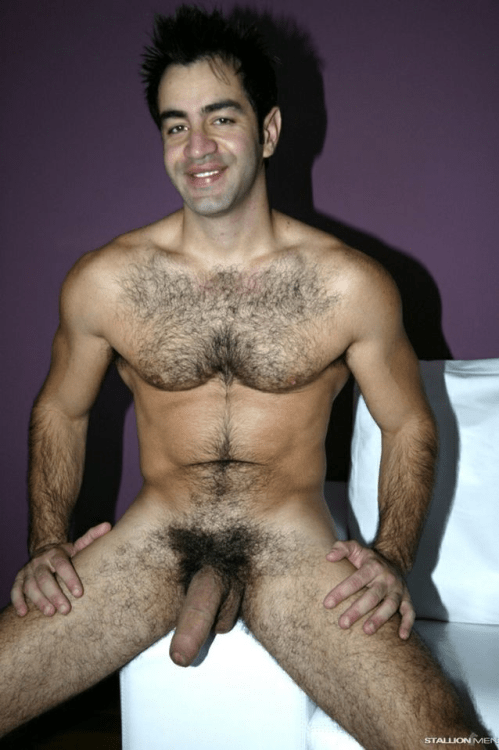 old fat hairy uncut penis