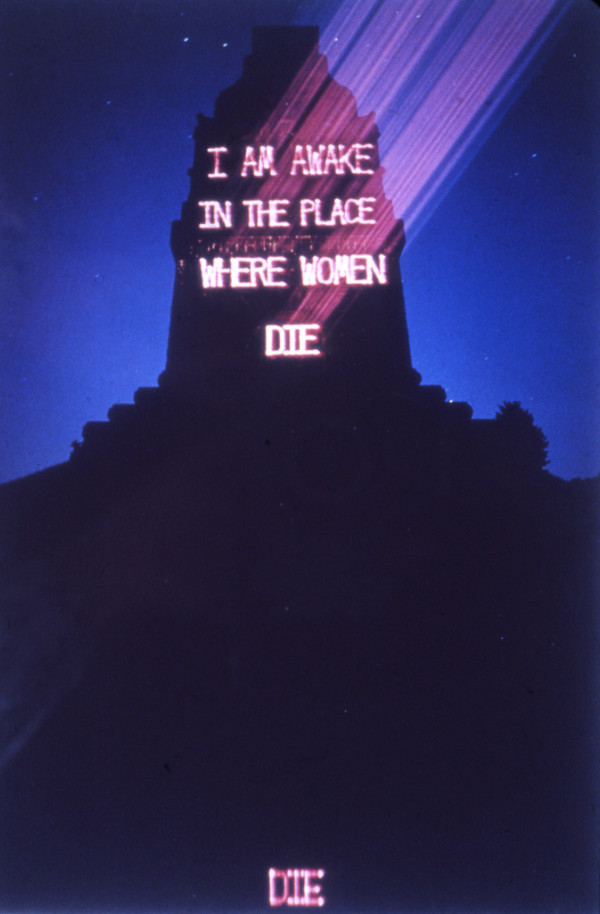 Rejoice! Our times are Intolerableu0027 Jenny Holzer and her u002715 - sample paper doll