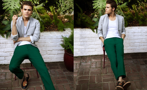 Dunkelgrüne Hose Damen Paul Wesley - Paul Fashion Thread #6: Not All Men Can Pull