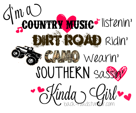 Country Girl Wallpapers With Camo Tumblr M72uu2brei1rzpaeco1 1280 Png