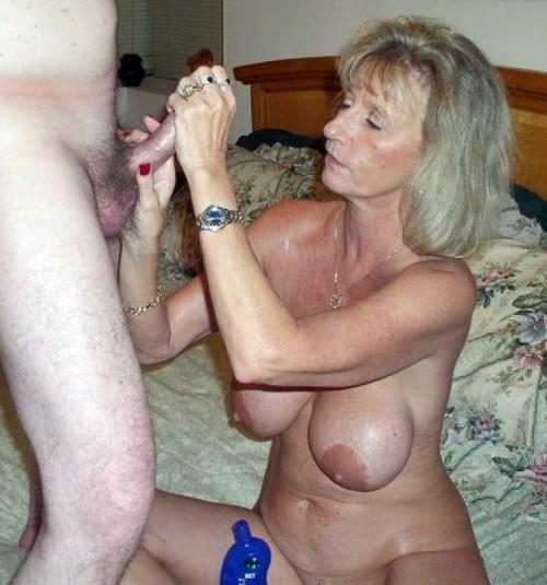 granny gagging