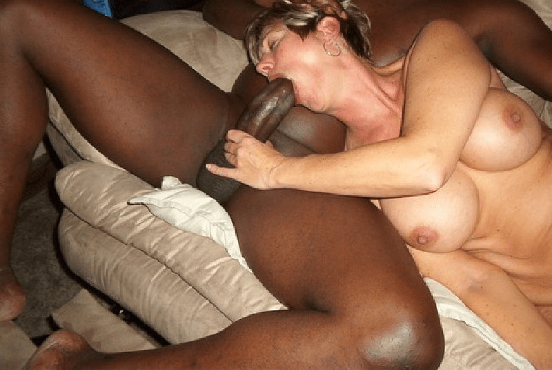 my wife sucking black cock