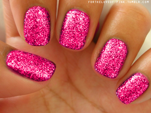 sparkle nails on Tumblr