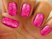 sparkle nails on Tumblr
