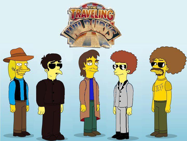 The Traveling Wilburys drawn as Simpsons characters Electric - writing an appeal letter