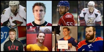 Sexy hockey players