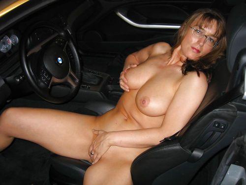 dogging it in a car