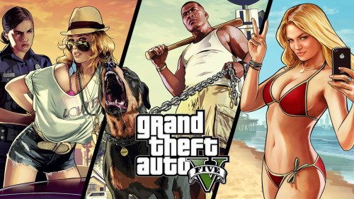 If Rockstar ever included a female protagonist in a GTA game... (1/2)