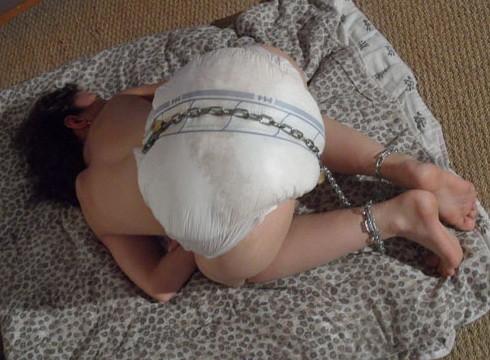 cartoon wear diaper