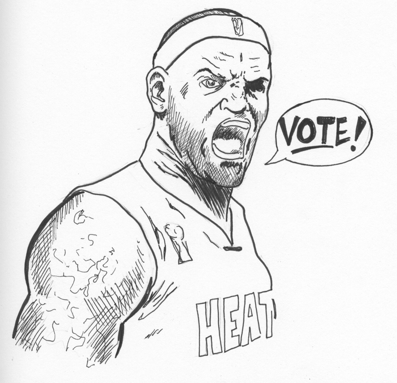 Lebron Dunking Drawing Lebron James Dunking Coloring