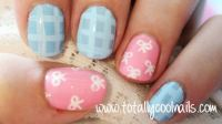 Totally Cool Nails - Bow Nails: Tutorial